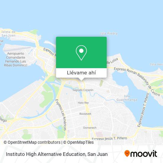 Mapa de Instituto High Alternative Education