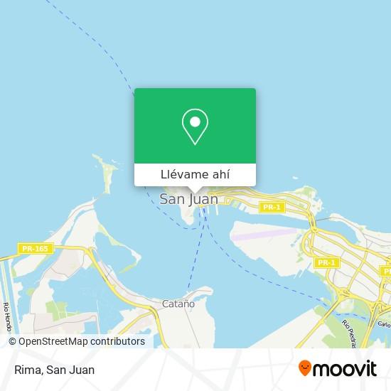 Mapa de Rima