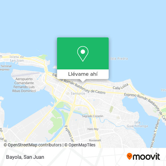 Mapa de Bayola
