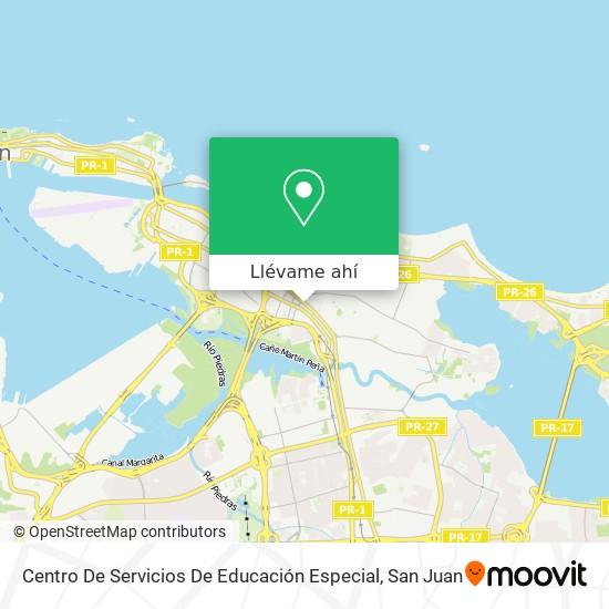 Mapa de Centro De Servicios De Educación Especial