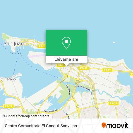 Mapa de Centro Comunitario El Gandul