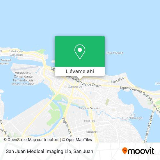 Mapa de San Juan Health Centre