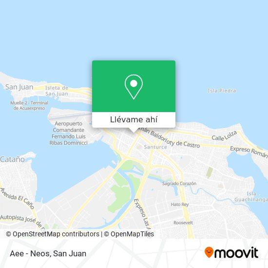 Mapa de Aee - Neos