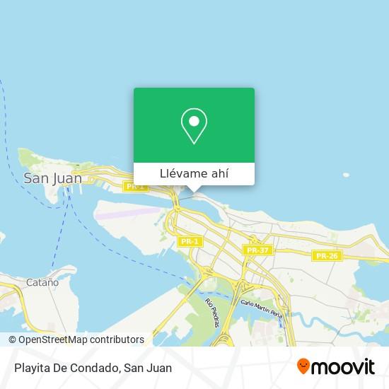 Mapa de Balneario De Condado