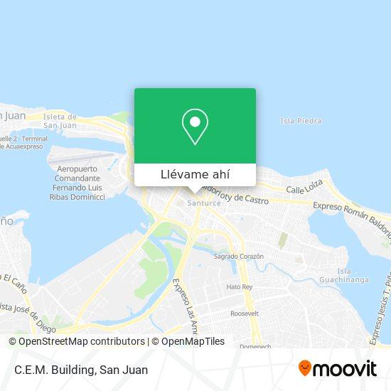 Mapa de C.E.M. Building