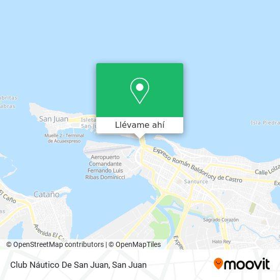 Mapa de Club Náutico De San Juan