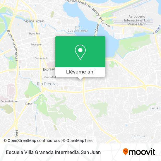Mapa de Escuela Villa Granada Intermedia