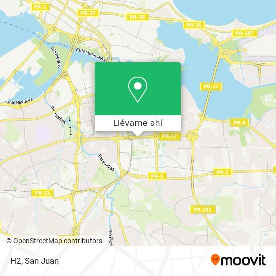 Mapa de H2