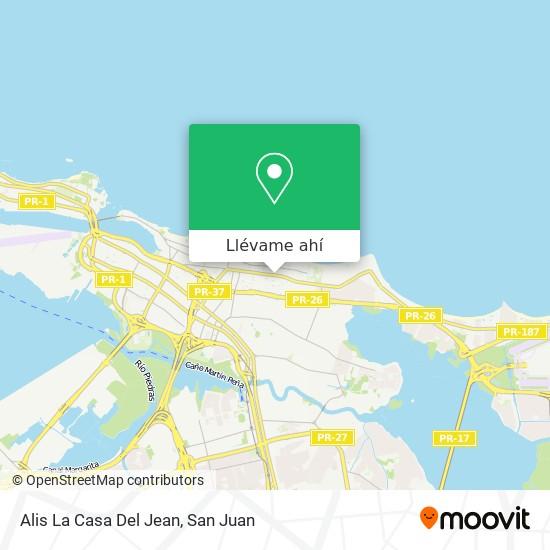 Mapa de Alis La Casa Del Jean