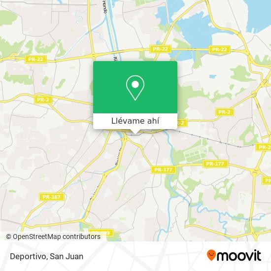 Mapa de Deportivo