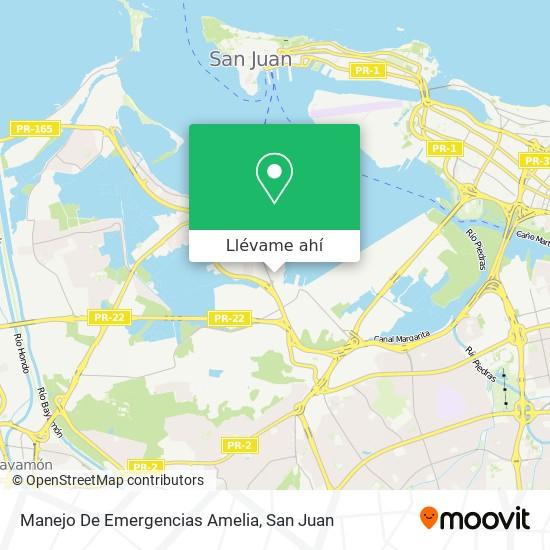 Mapa de Manejo De Emergencias Amelia