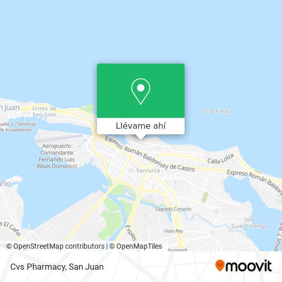 Mapa de Cvs