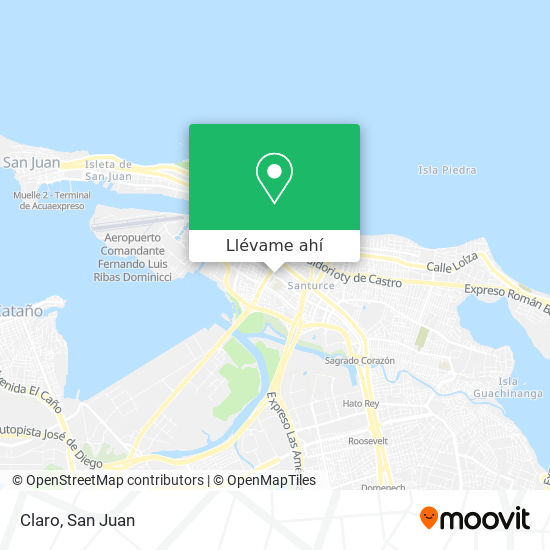 Mapa de Claro