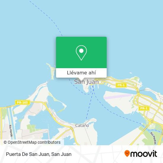 Mapa de Puerta De San Juan