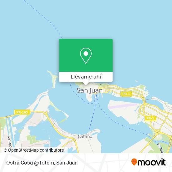 Mapa de Ostra Cosa @Tótem