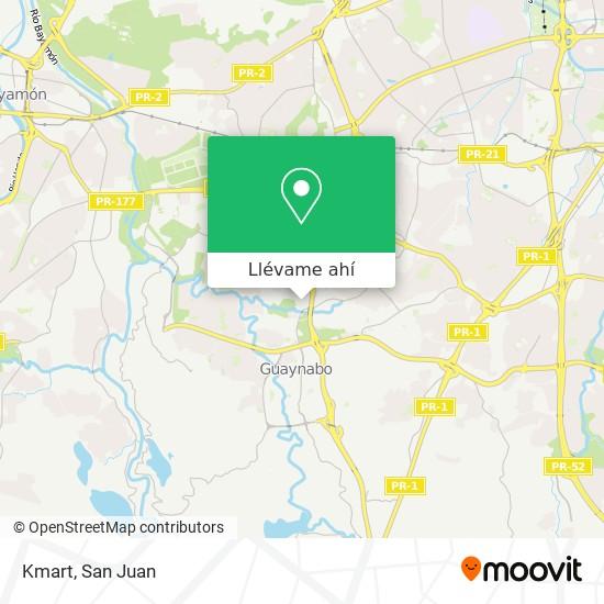 Mapa de Kmart