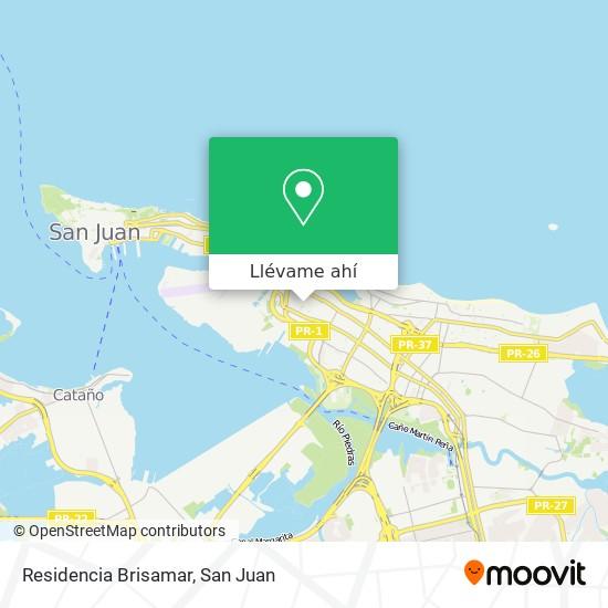 Mapa de Residencia Brisamar