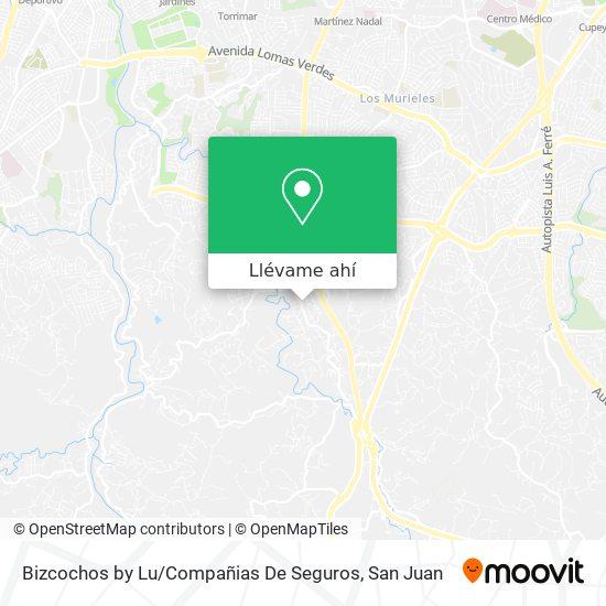 Mapa de Bizcochos By Lu / Compañias De Seguros