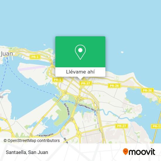 Mapa de Santaella