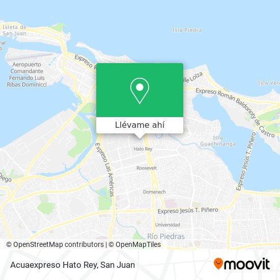 Mapa de Acuaexpreso Hato Rey