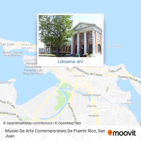 Mapa de Museo De Arte Contemporaneo