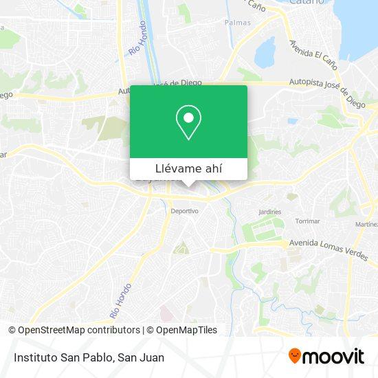 Mapa de Instituto San Pablo