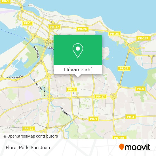 Mapa de Floral Park