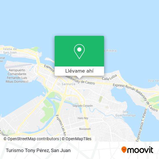 Mapa de Turismo Tony Pérez