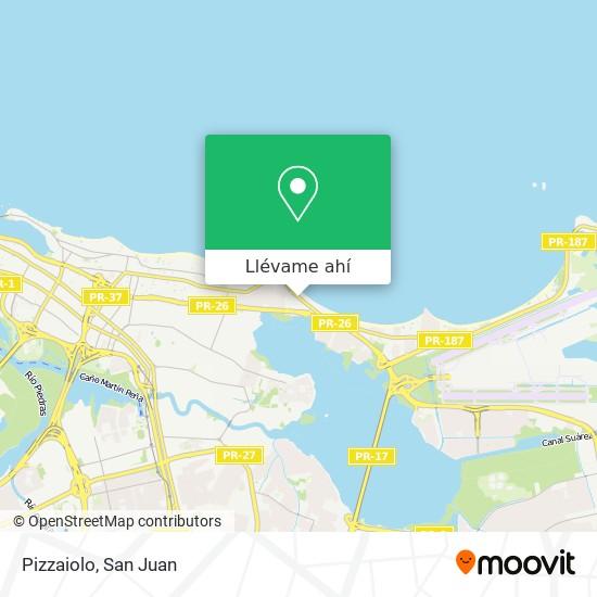 Mapa de Pizzaiolo
