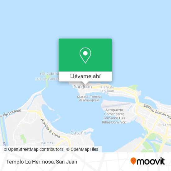 Mapa de Templo La Hermosa