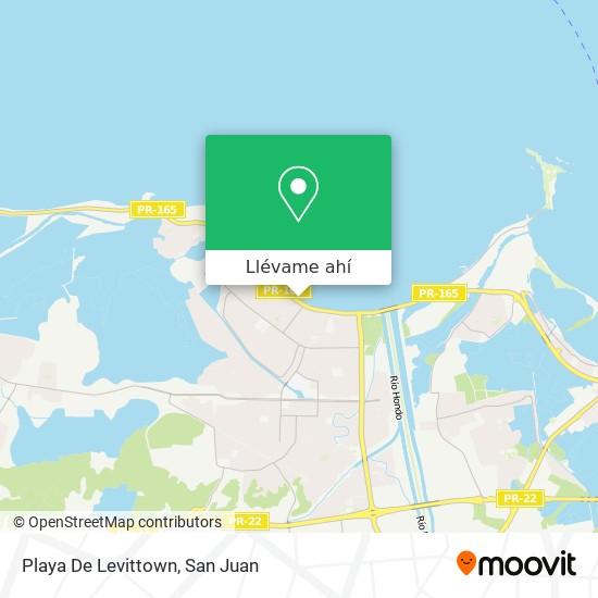 Mapa de Playa De Levittown