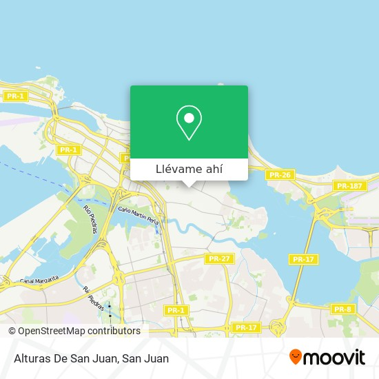 Mapa de Alturas De San Juan
