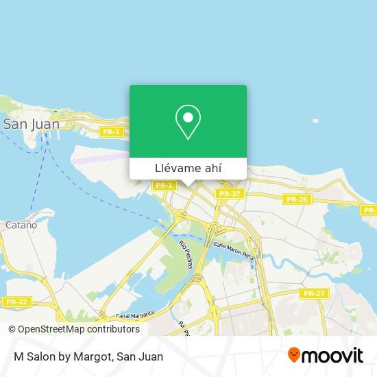 Mapa de M Salon By Margot