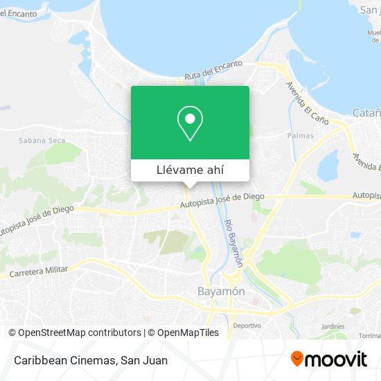 Mapa de Caribbean Cinemas - Rio Hondo 2