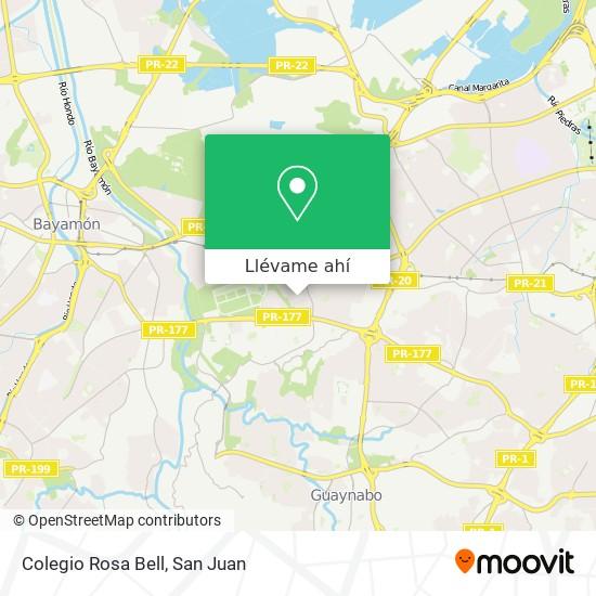Mapa de Colegio Rosa Bell