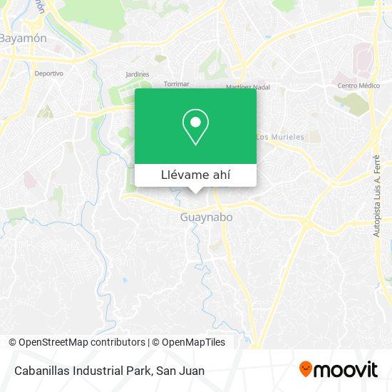 Mapa de Cabanillas Industrial Park