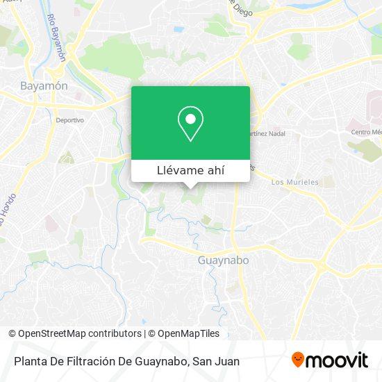 Mapa de Planta Los Filtros Guaynabo Aaa
