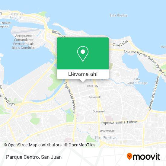 Mapa de Parque Centro
