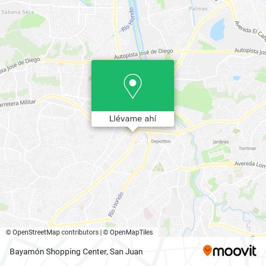 Mapa de Bayamón Shopping Center