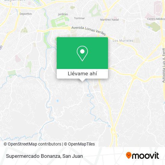 Mapa de Supermercado Bonanza