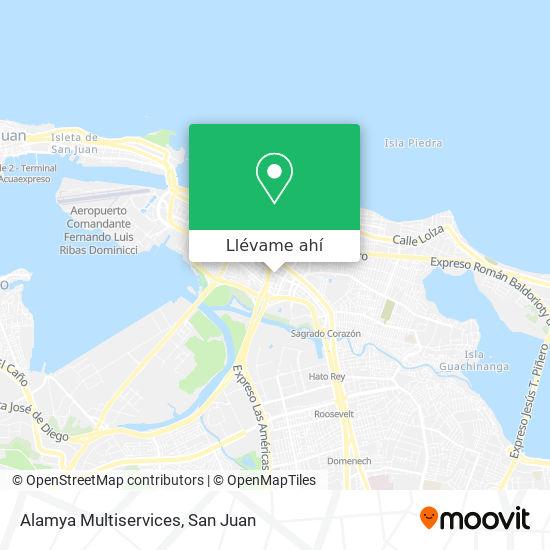Mapa de Alamya Multiservices