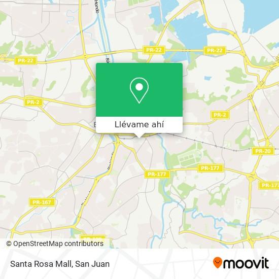 Mapa de Santa Rosa Mall