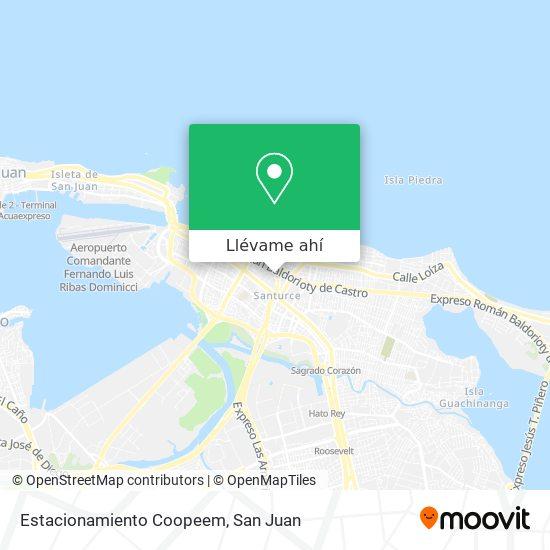 Mapa de Estacionamiento Coopeem