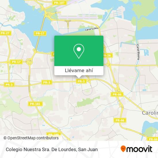 Mapa de Colegio Nuestra Sra. De Lourdes