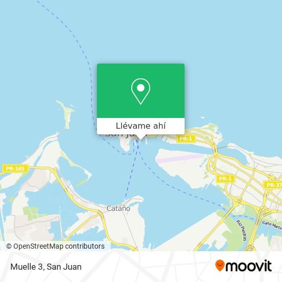 Mapa de Muelle 3
