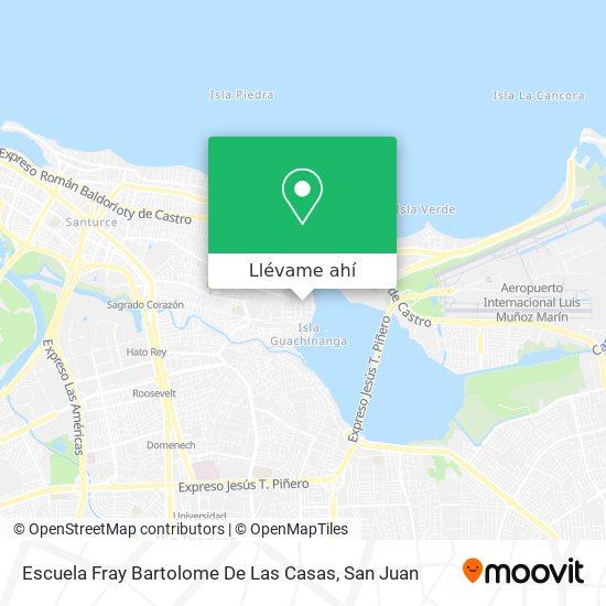 Mapa de Escuela Fray Bartolome Las Casas