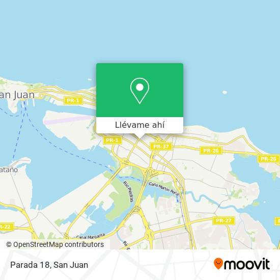Mapa de Parada 18