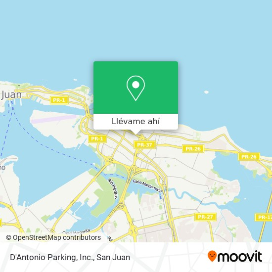 Mapa de D'Antonio Parking, Inc.