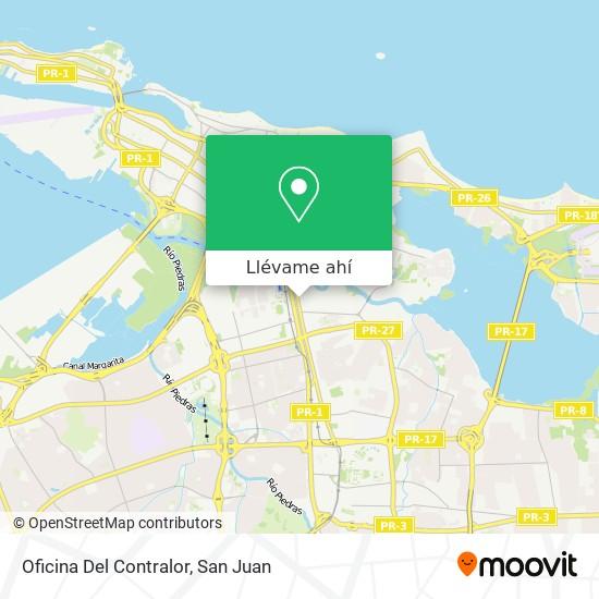 Mapa de Oficina Del Contralor