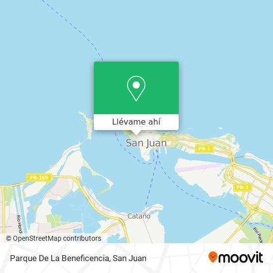 Mapa de Parque De La Beneficencia